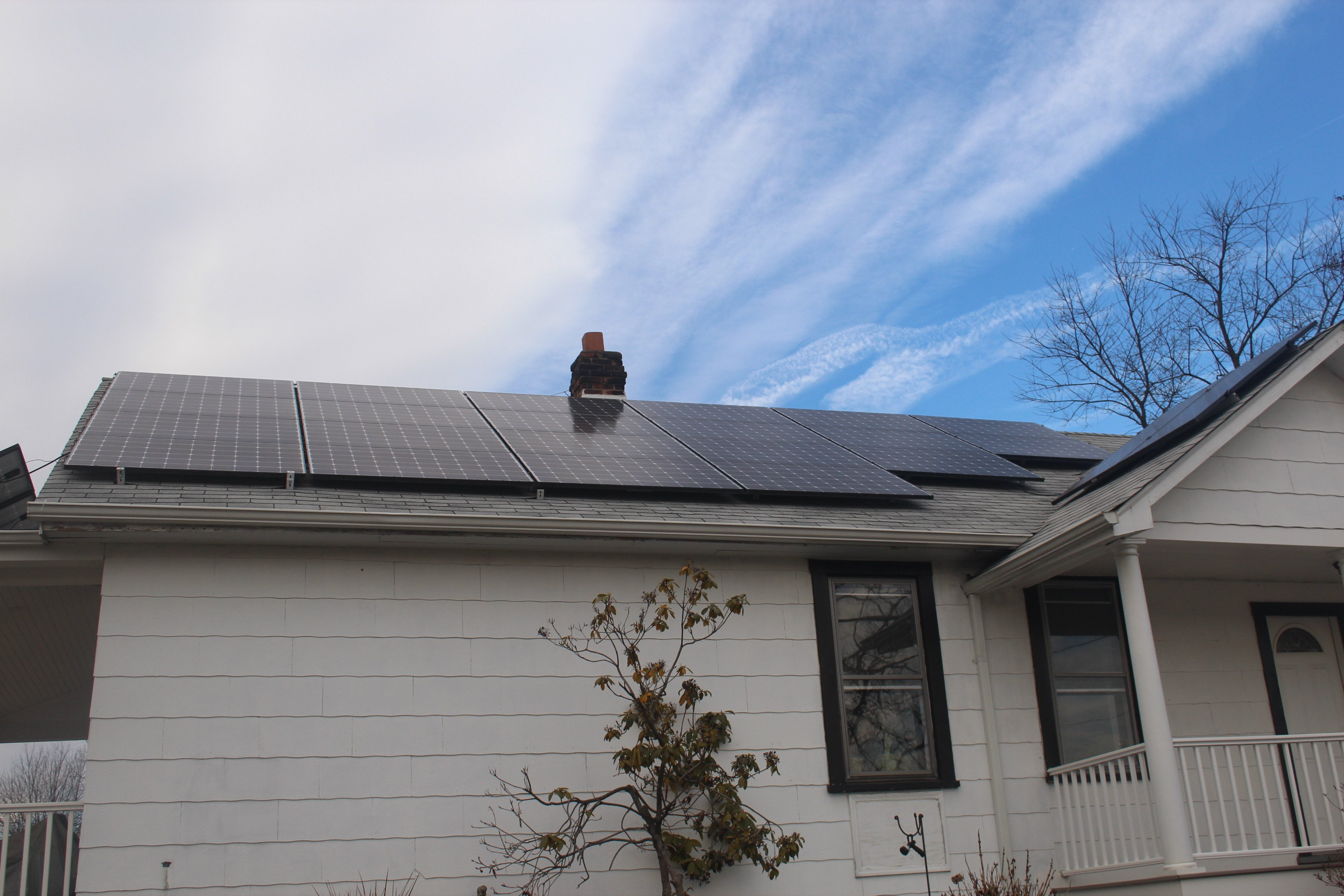 Installation of solar panels in VA