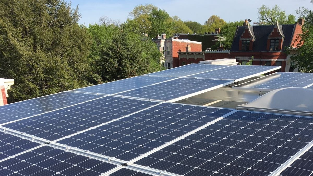 solar installation in Washington DC