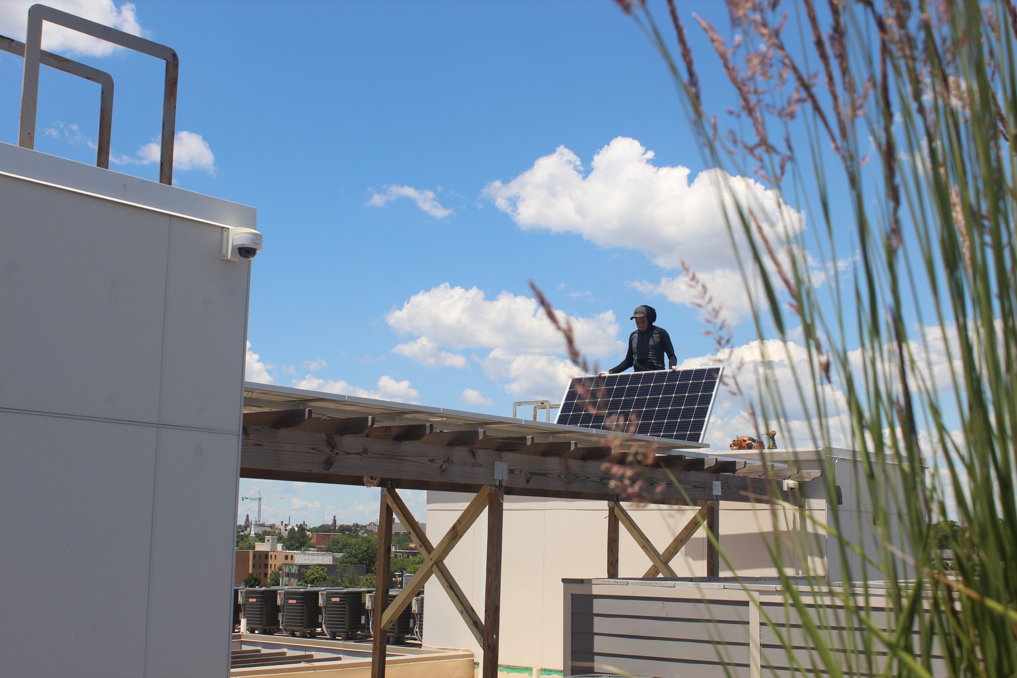 Commercial solar panels in Washington DC