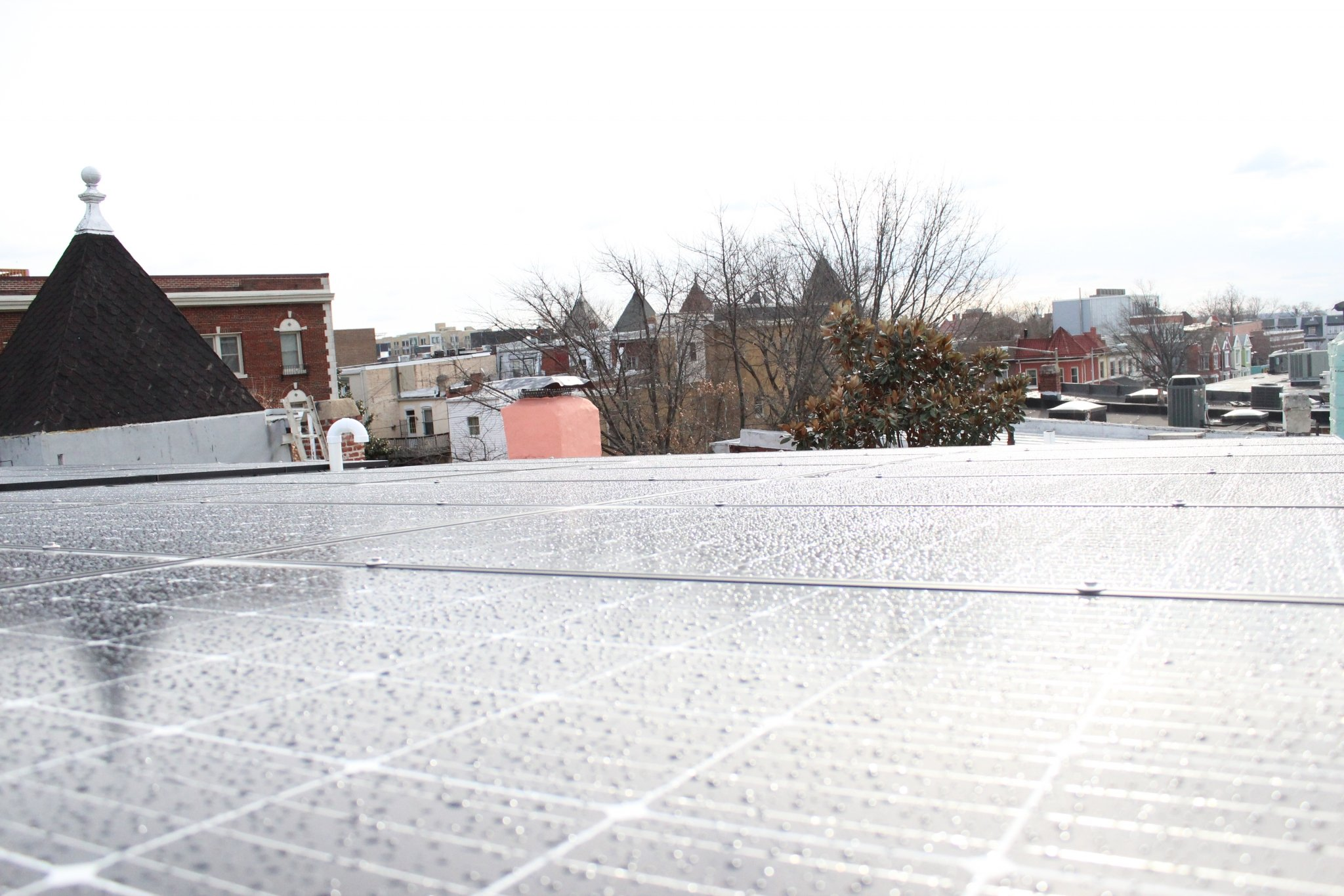 solar panels in Washington DC - parapet 4