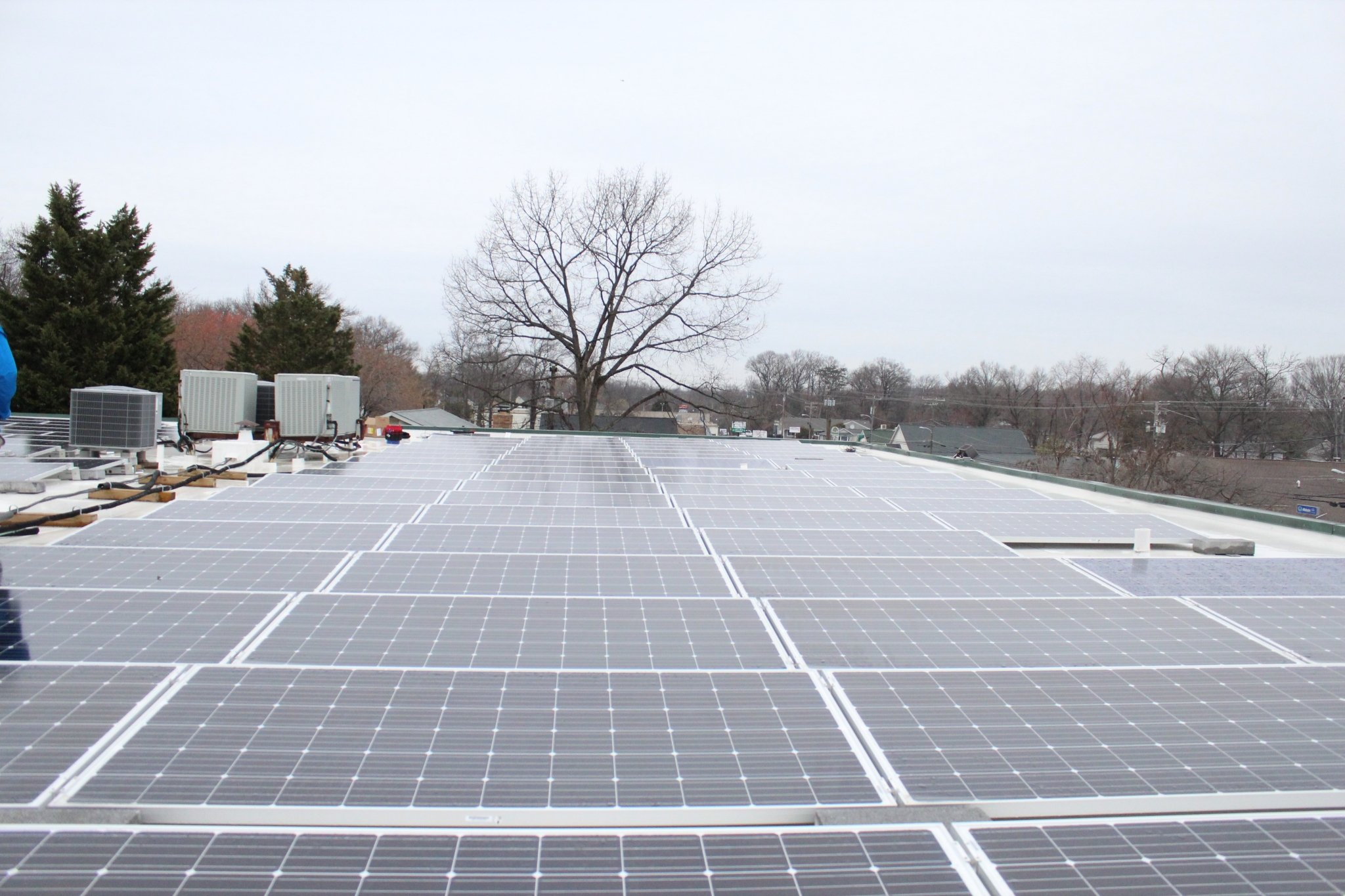 Commercial solar panel - Maryland 2