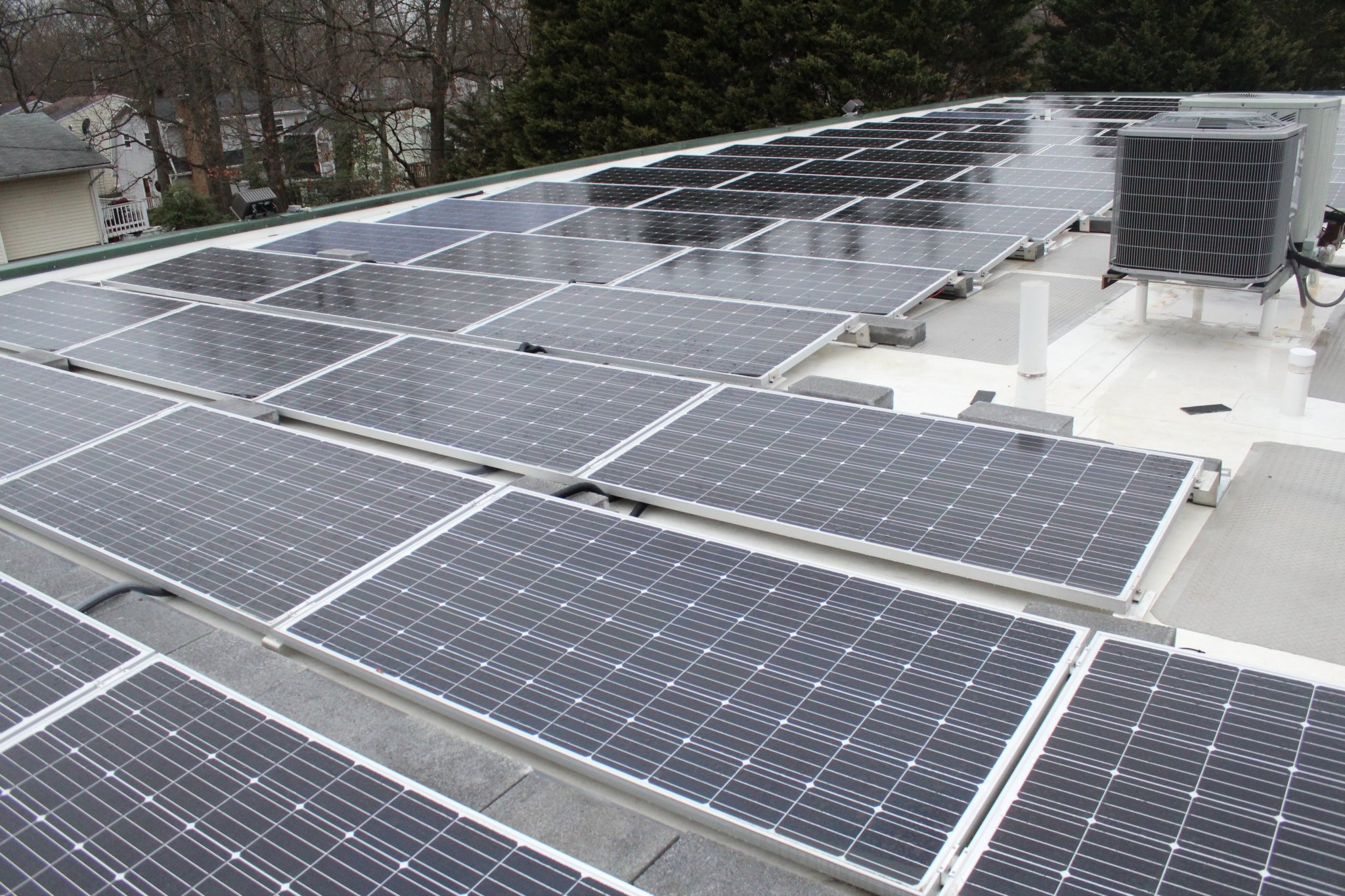 50 Kw Commercial Solar System In Maryland Ipsun Solar