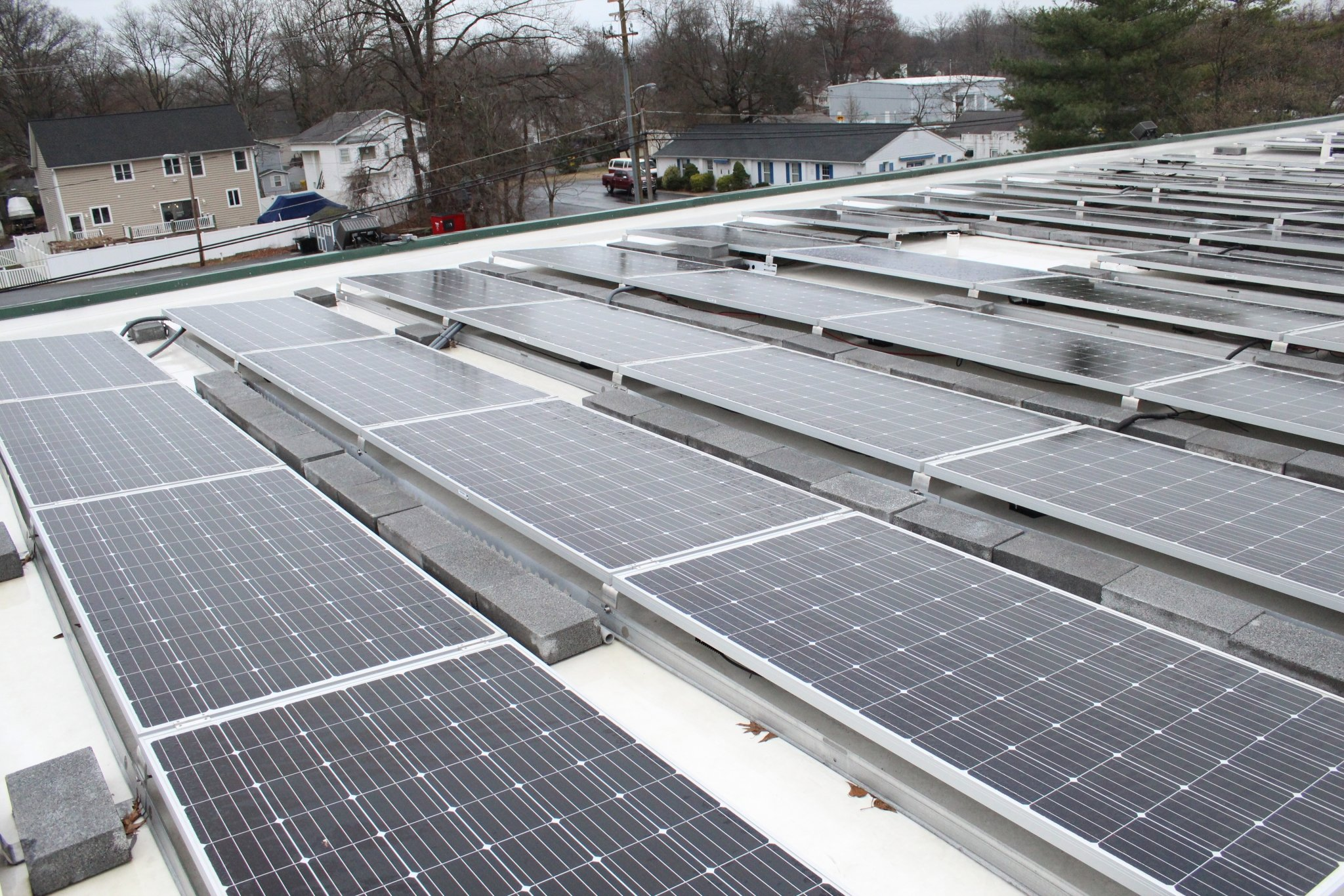 Commercial solar panel - Maryland