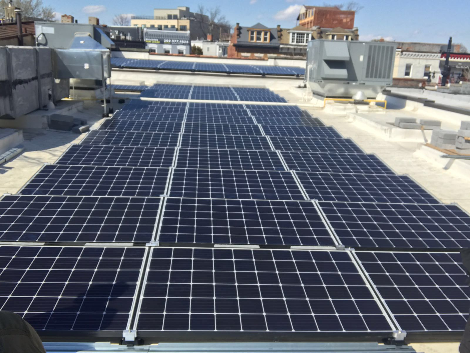 1 Commercial Solar Washington DC