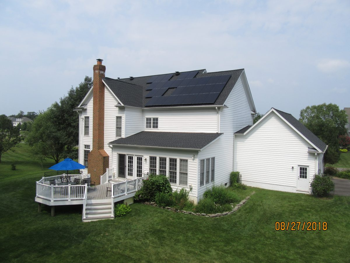Solar panels in VA