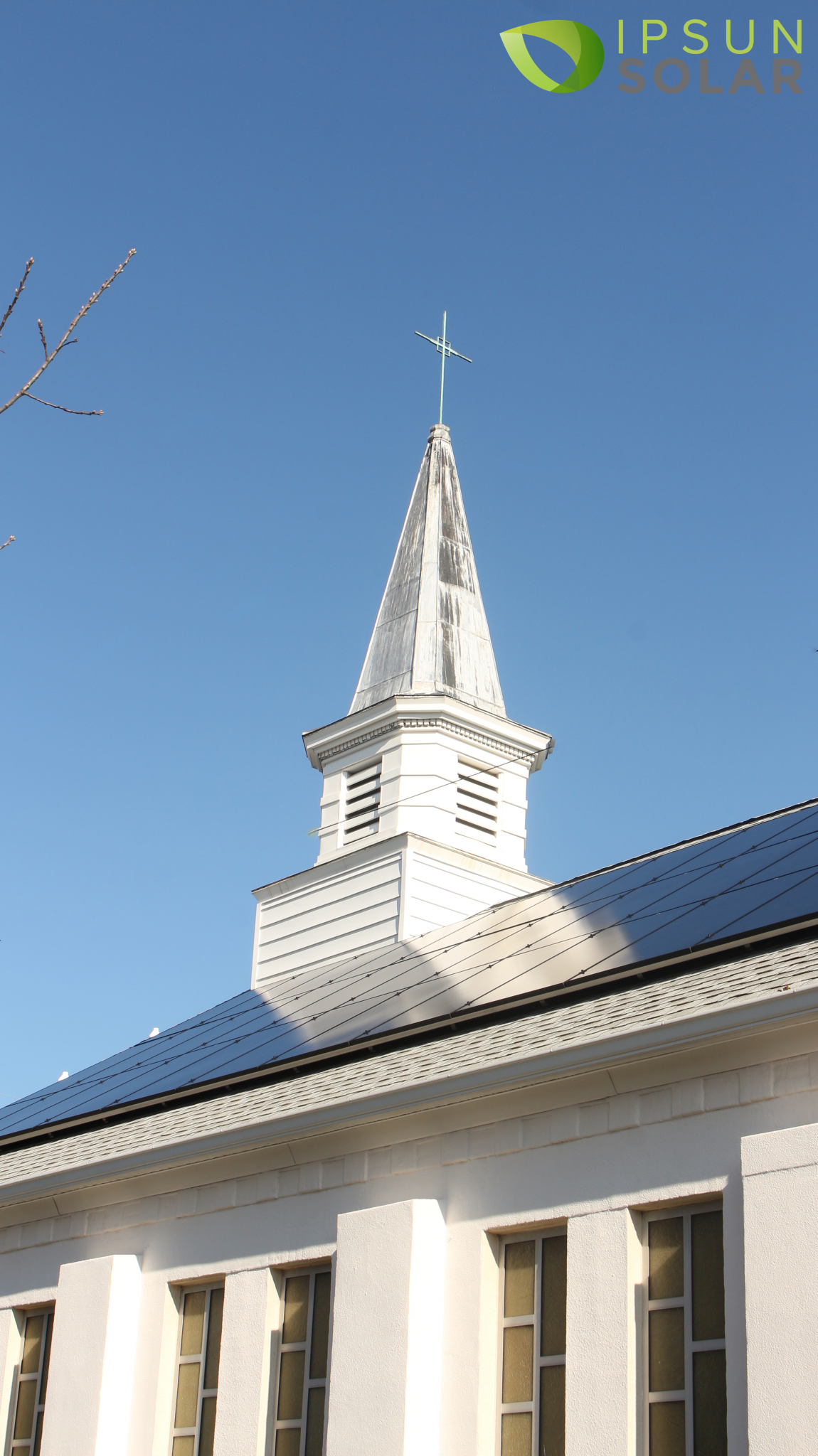 Lady Queen of Peace solar panels