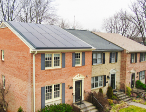 Clean, attractive solar town house in Falls Church