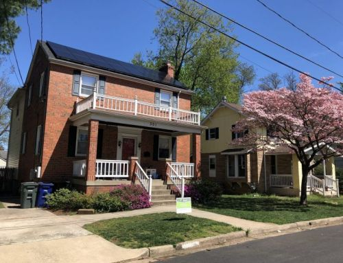 Attractive brick home with solar in Arlington