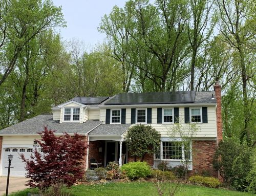 Front of home solar is aesthetic in Springfield VA