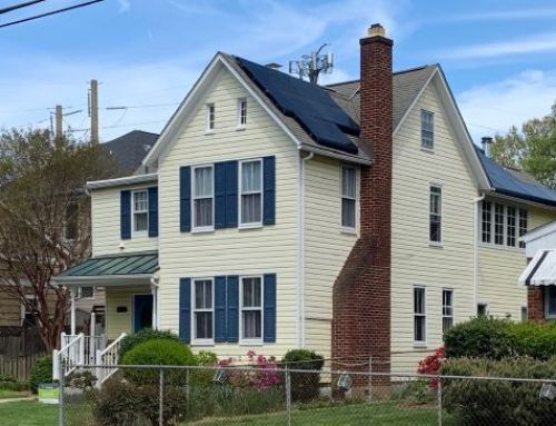 Cute Arlington VA home with solar