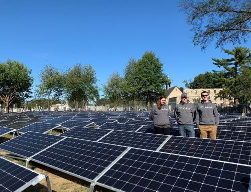 Community Solar installation at the Monastery of Our Lady of Mt. Carmel in Northeast DC
