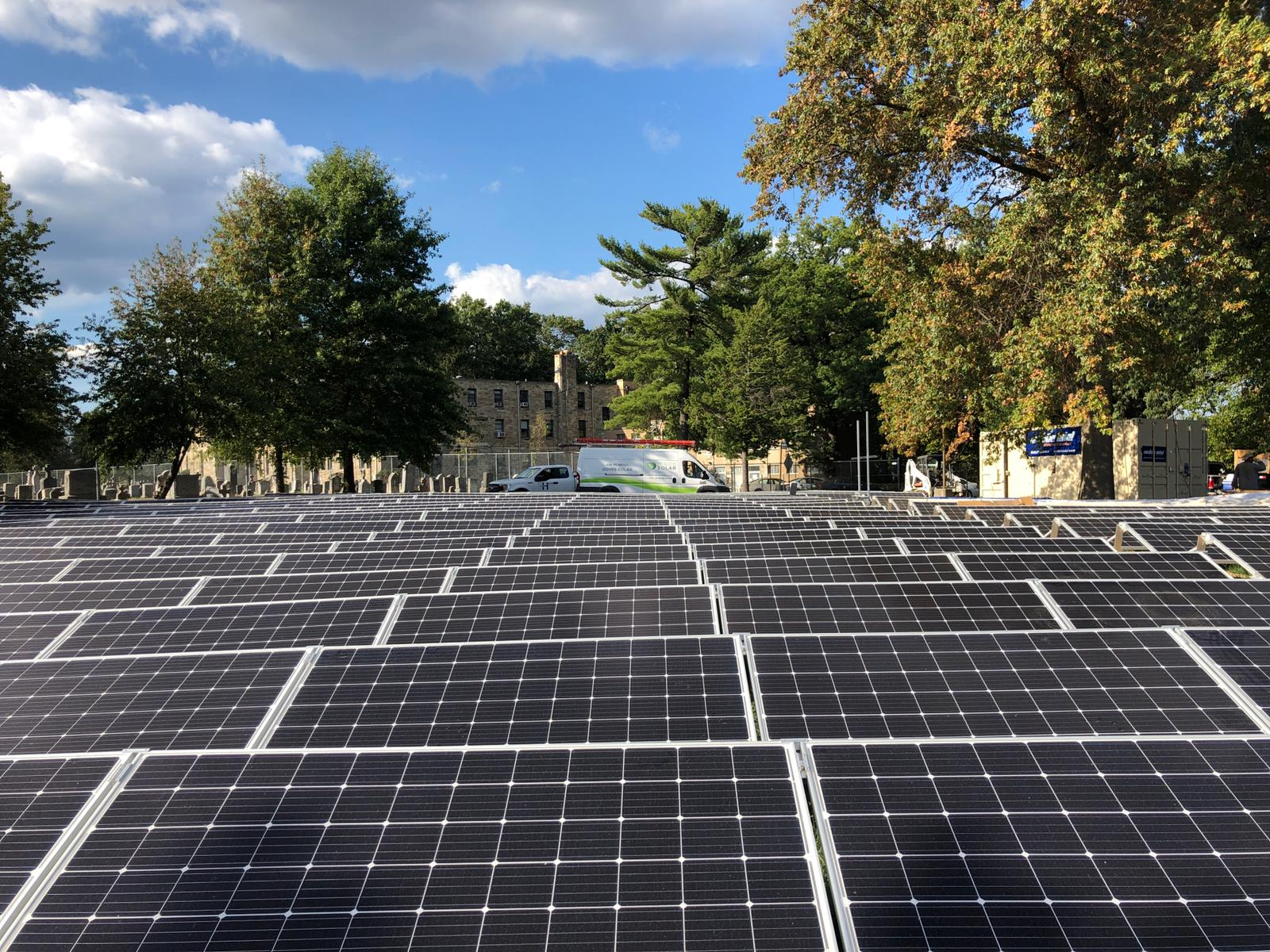 Community solar at Monastery of Our Lady of Mt. Carmel