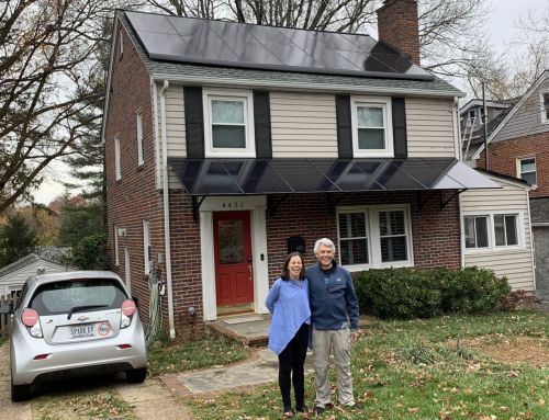 Arlington family chooses solar to address the climate crisis