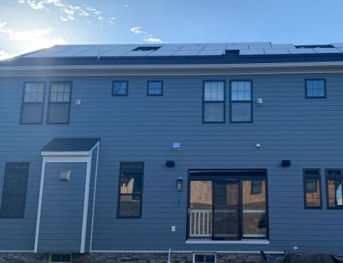 Sleek solar project in Vienna VA