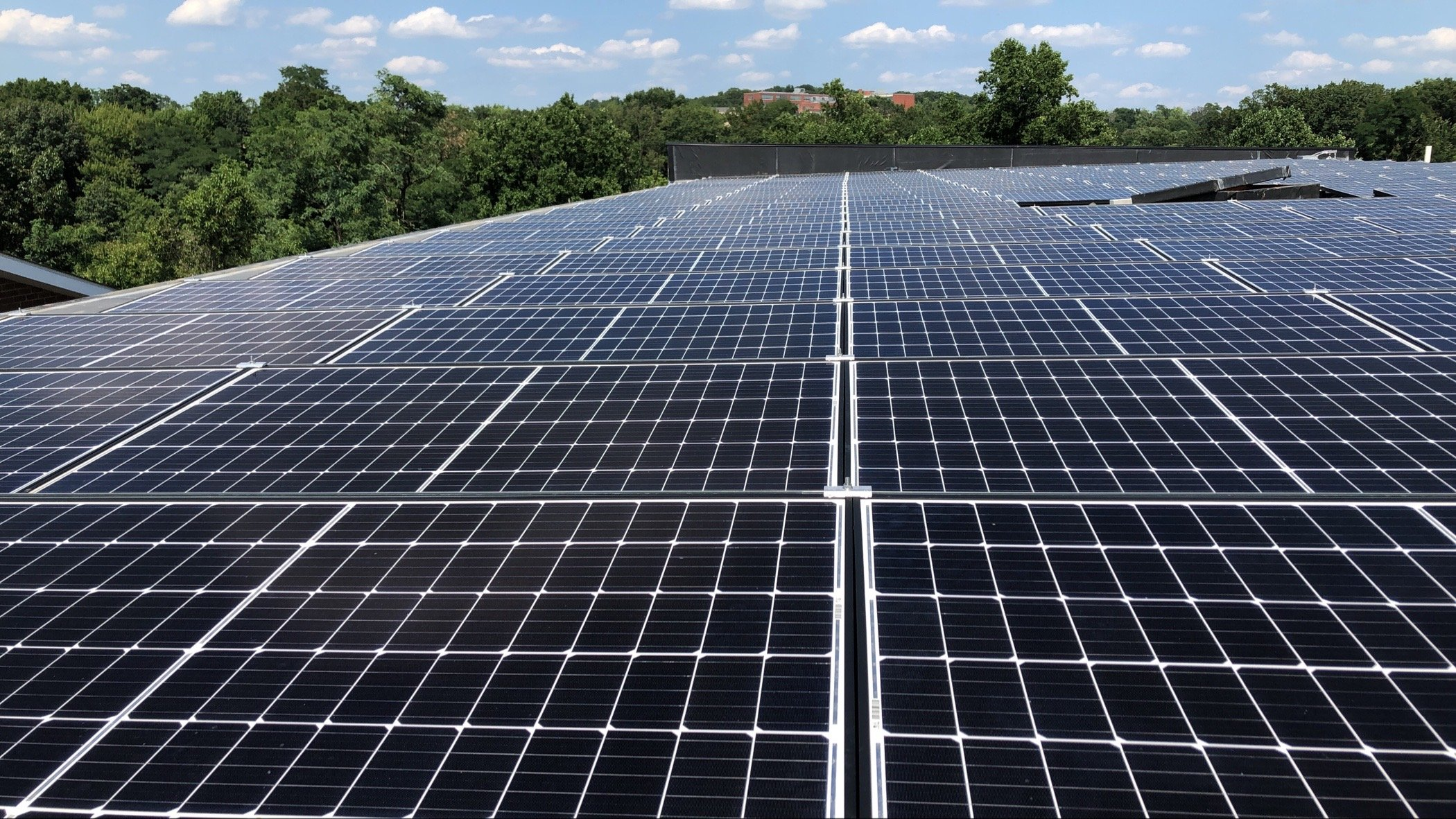 Commercial Solar system in Washington DC