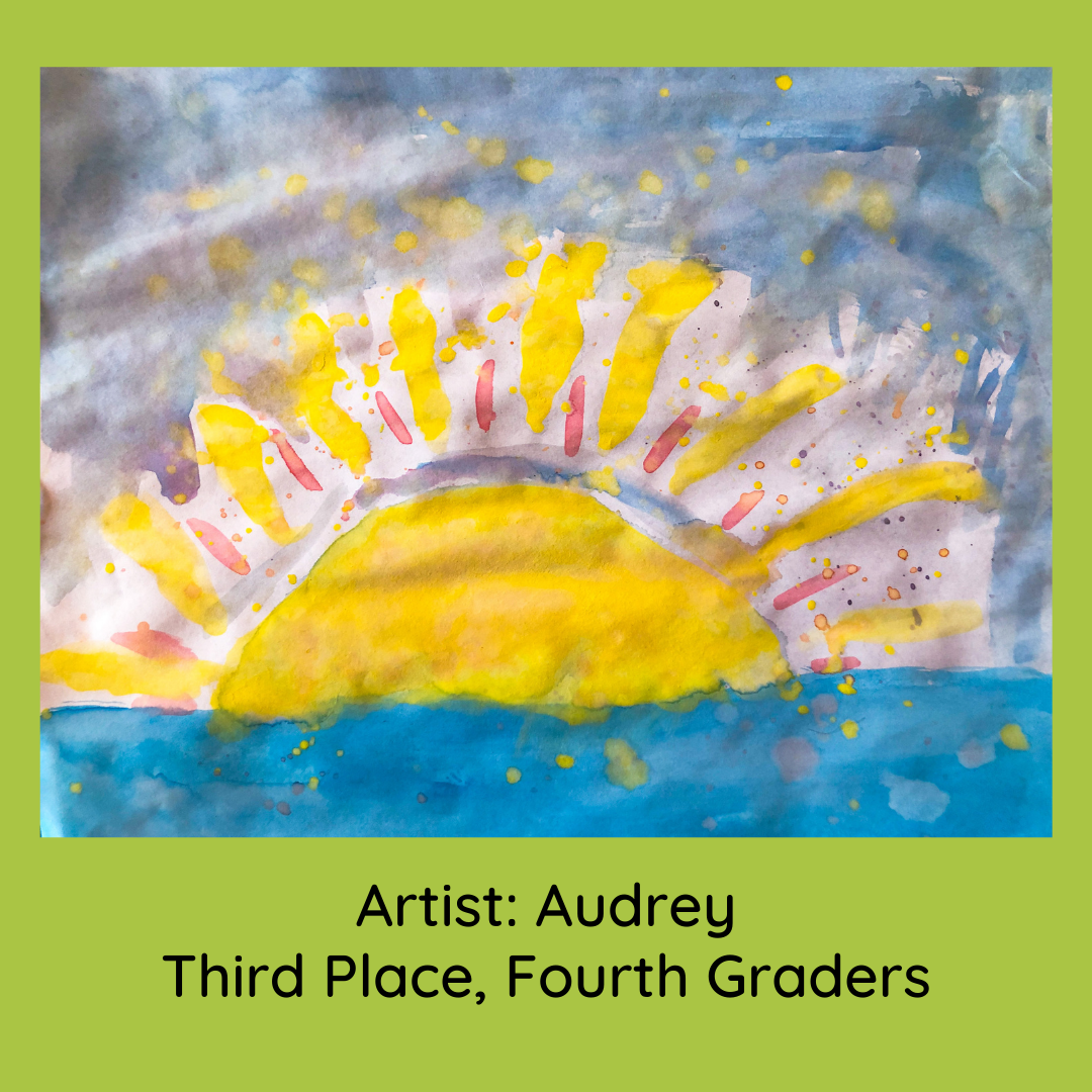audrey_third place fourth grade
