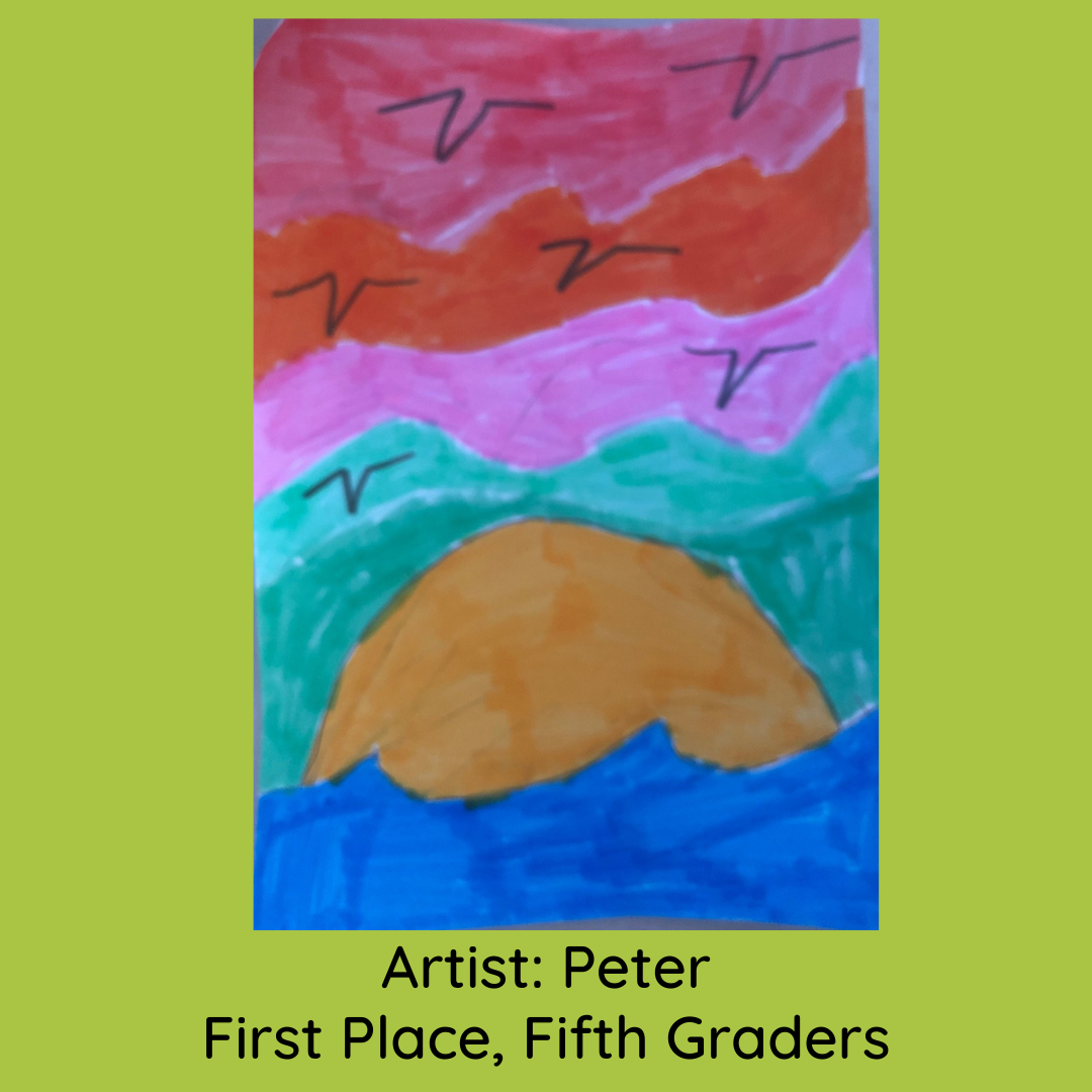peter_first place fifth grade